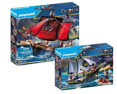 PLAYMOBIL® 5-teiliges Komplettset Piraten 70411 neu ovp