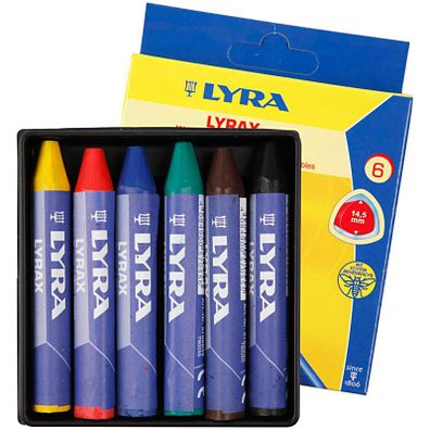 Lyra Kopierstift Zimmerer 10 Stk 24 cm Bleistift  334 für nasse Untergründe