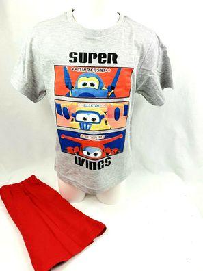 116 Super Wings Boxer Shorts Badehose Kinder Größen 98 110 104