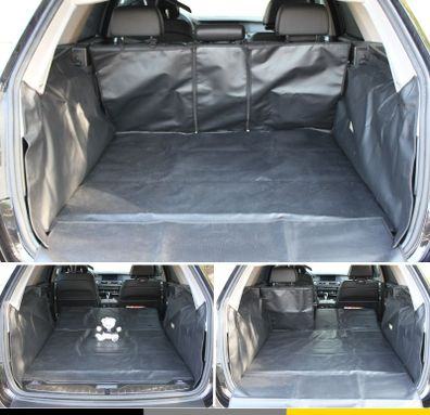 Für Ford Edge Laderaum-Auskleidung Kofferraum Wanne n Maß ohne Stoßstangenschutz