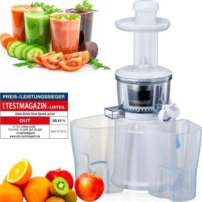 Profi-Entsafter elektrische Fruchtpresse Obstpresse Juicer Fruchtentsafter NEU