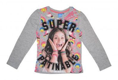 Shirt Gr 104-152 Disney Soy Luna Langarmshirt Pink