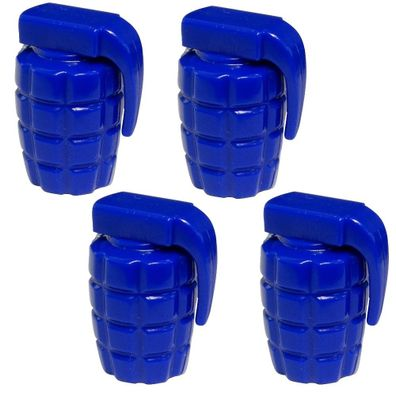 4 Ventilkappen Auto Fahrrad Motorrad mit blau Kristall C19916 Aerzetix