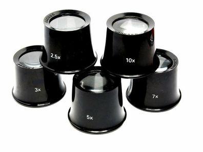 Uhrmacher Augenlupe Brillenträger Uhrmacherlupe Okular 10-Fach Vergrößerung