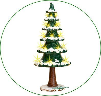 Miniatur Försterin mit Reh natur  H=ca 6 cm NEU Erzgebirge Weihnachtsfigur