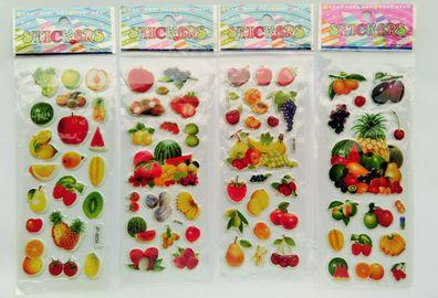 3D Sticker Unterwasser 1-20 Folien Aquarium Fische Kinder Puffy Aufkleber Angeln