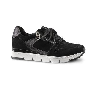 MARCO TOZZI by Guido Maria Kretschmer Fashion Sneaker Low Top 83700 Black Comb