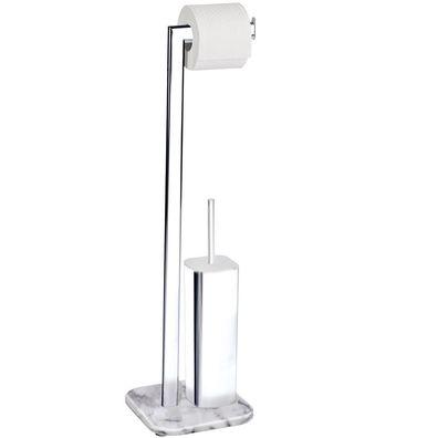 Ständer für Toilettenpapier und eine Toilettenbürste 2 in 1 ZELLER