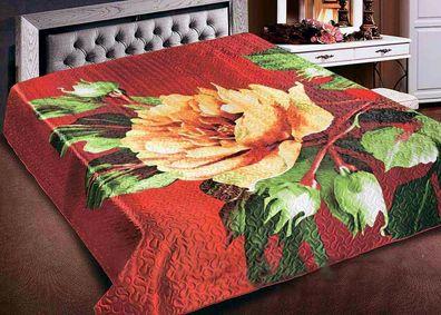 Tagesdecke Modell 22  230x250 oder 200x220 cm Bettüberwurf Bettdecke Steppdecke