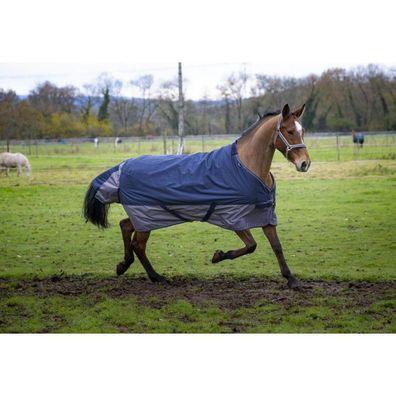Weidedecke Equitheme TYREX Reflective Decke Pferdedecke Outdoordecke Regendecke
