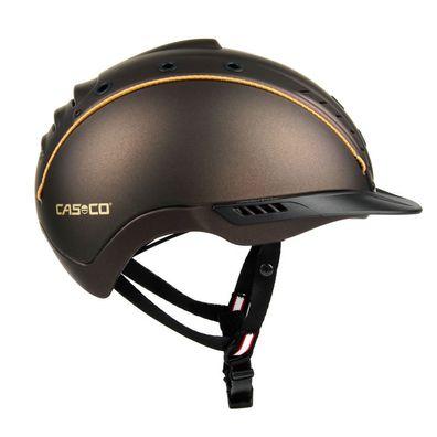 Reithelm PRO SERIES Hybrid rosegold Helm Sicherheitsreithelm Reitkappe Sturzhelm