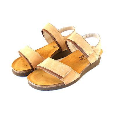 Naot Damen Schuhe Sandaletten Alpicola Echt-Leder braun matt 15422 Fußbett