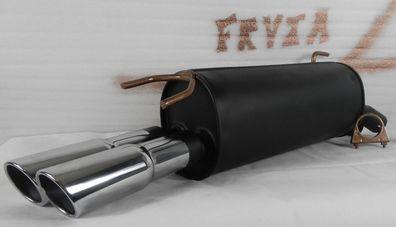 Montagesatz 1220-19694 D/ämpfer Abgasanlage Endschalld/ämpfer Auspuff Inkl