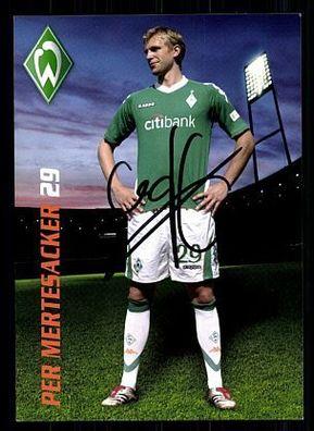 Per Mertesacker 2 AK DFB 2014 Autogrammkarte original signiert