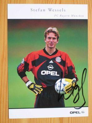 Stefan Wessels Bayern München 2001-02 seltenes Foto