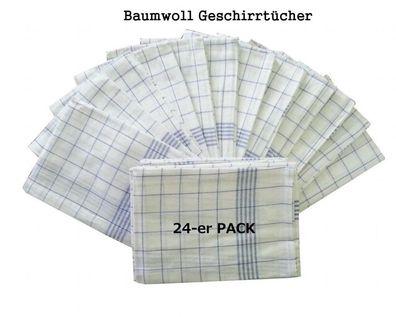 Trockentücher Geschirrtücher Geschirrhandtücher 100/% Baumwolle 10 x 10 St