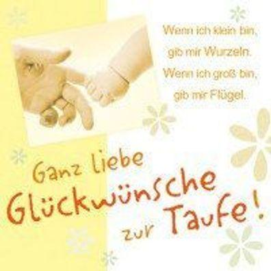 Magic Moments Grusskarte Mit Cd Ganz Liebe Glückwünsche Zur Taufe Neuware