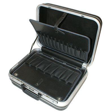 Werkzeugkoffer Metall-Klappverschluss Koffer INCREWAY 4 Set Edelstahl Federbet/ätigte Zugknopfverschluss