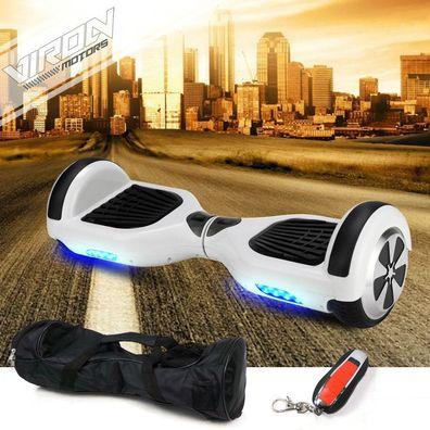 9 Zoll Hoverboard Elektro Scooter mit dem praktischen Handgriff Elektroroller