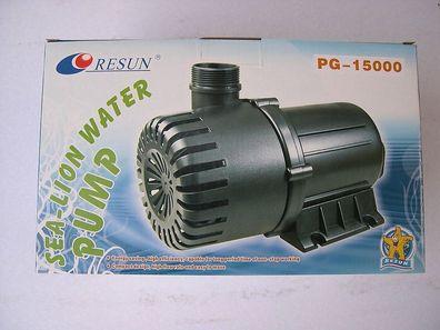 Teichfilter Resun Teichfilterpumpe 6000 Liter Filterpumpe Strömungspumpe f