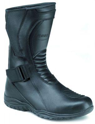 Motorradstiefel hochwertige XLS Boots Touringstiefel schwarz rot Gr 42 und 46