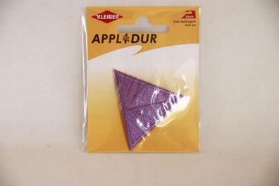 Applikation Buchstabe N gelb//bunt 3x 3cm  Aufbügler Label Flicken