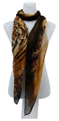 Damen Schal Voile 180X90cm groß dünn leicht SC-PG-DD-1404A2 Beige Pink Rot Blau