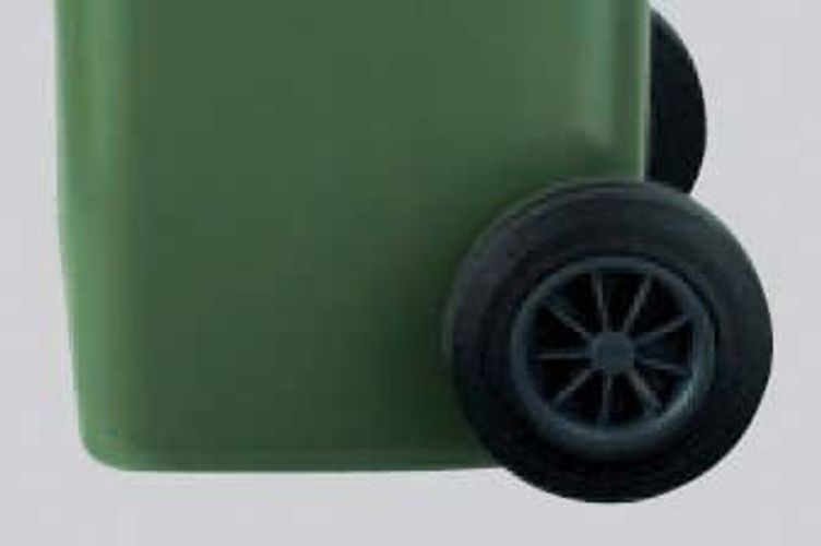 SULO 2012728 Ersatzrad zu MGB 60-240 ***NEU***