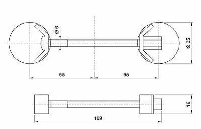 2 Stück Arbeitsplattenverbinder Holzplattenverbinder