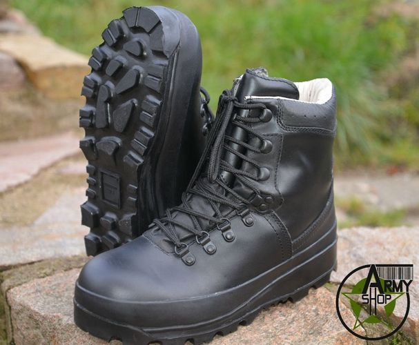 BW Bergschuhe Bundeswehr Stiefel Bergstiefel Army Boots Gebirgsjäger 40 41 42 48