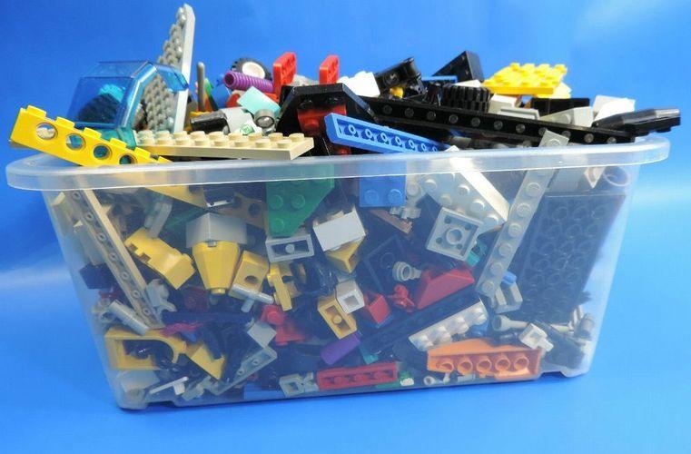 LEGO ca.500-800 Teile Steine Platten Bund Gemischt 1 kg Fliesen,Sonderteile