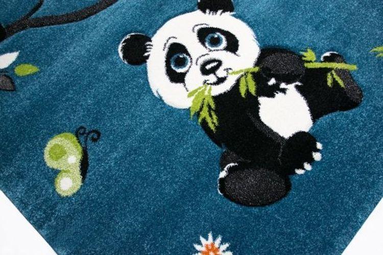 Kinderteppich Spielteppich Kinderzimmer Teppich niedliche Bunte Tiere mit ...