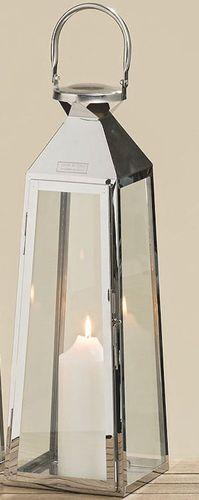 Größen Kerzenschein Dekoration Neu//OVP Laterne Venedig Edelstahl Glas versch