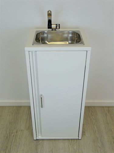 Mobiles Waschbecken Schwarz Spülbecken Handwaschbecken Verkaufssstand Camping