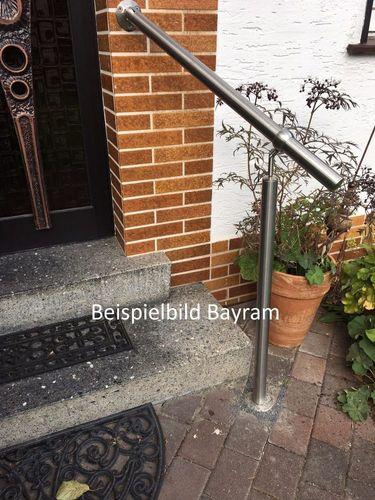 Geländer Treppengeländer Handlauf Balkongeländer Treppe Bausatz aus Edelstahl