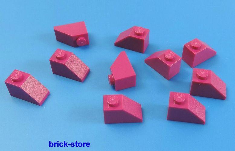 10 Stück Rosa LEGO®  1x2 Dachstein Pink