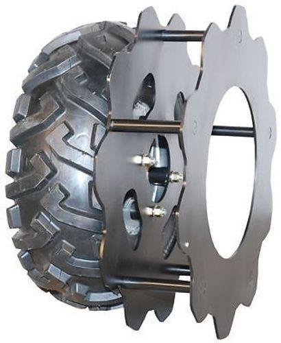 Eurosystems Zusatz Eisengitterräder 1 Paar Eisenräder für M 250 Räder