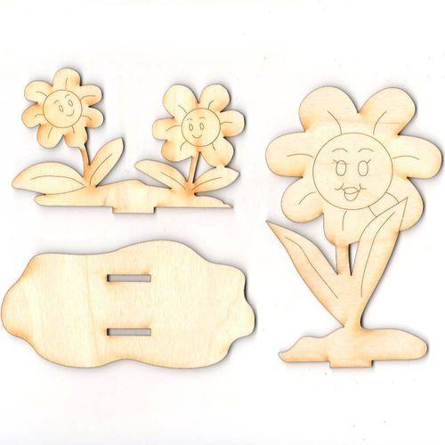 Kreativset Für Kinder Blume Zum Malen Kindergeburtstag Basteln Geschenk