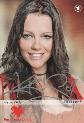 Kristina Dorfer Deutsche Schauspielerin Verbotene Liebe