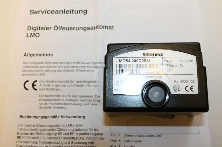 Feuerungsautomat LMO54.200