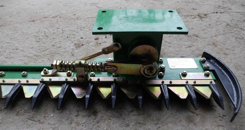 Mähkopf für Bagger Mähbalken Balkenmäher GEO AMD 120 Heckenschere