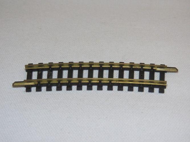 Fleischmann 6026 gebogenes Gleisstück Spur H0