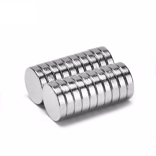 Neodym Magnet 14 x 1 mm Supermagnete hohe Haftkraft Scheibenmagnet N35 25 Stück