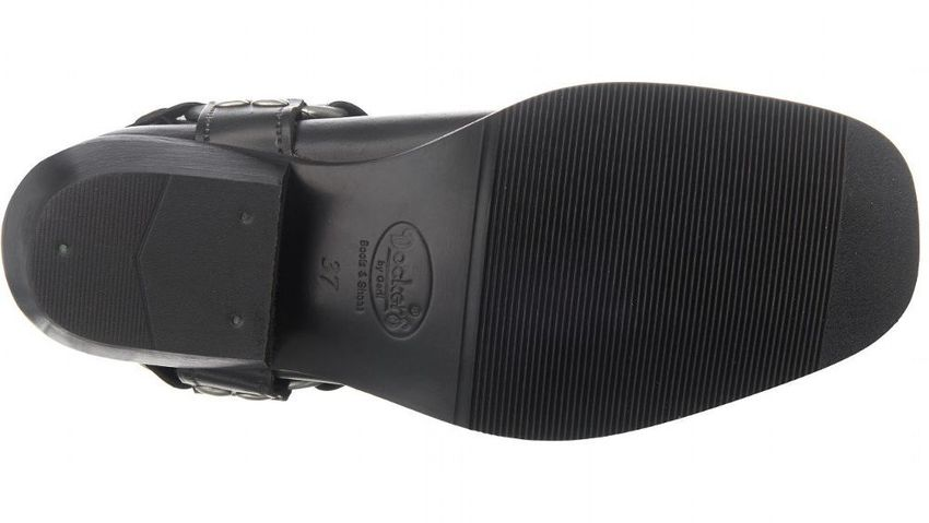 Dockers by Gerli Biker Boots 030140 002001 Stiefel Schwarz