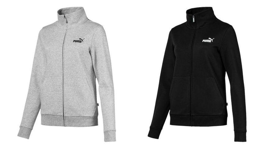 PUMA Damen ESS Track Jacket FL Jacke Trainingsjacke Sportjacke Fleece 851799
