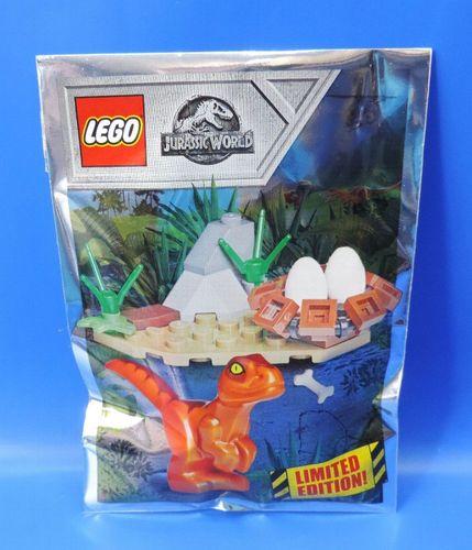 Limitiert! Owen mit Beobachtungsposten im Polybag Lego Jurassic World