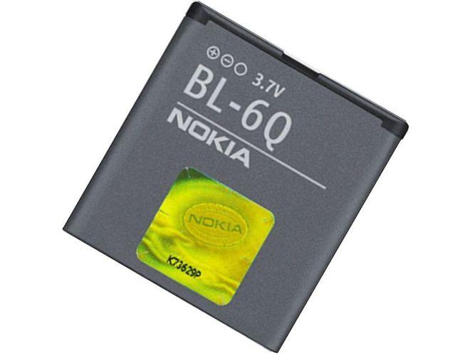 originaler Nokia Akku BL-6Q für Nokia 6700 classic kaufen bei Hood.de