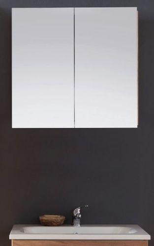 Bad Spiegelschrank In Eiche Trüffel 60 Cm Badezimmer Spiegel Beleuchtung Intenso