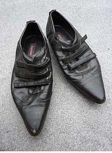 Graceland Schuhe schwarz mit Klettverschluss Gr.37