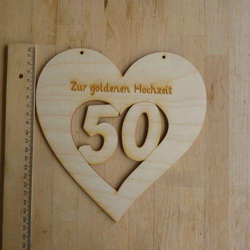 Zubehor Zu Goldene Hochzeit Blechschild 50 30cm X 25cm